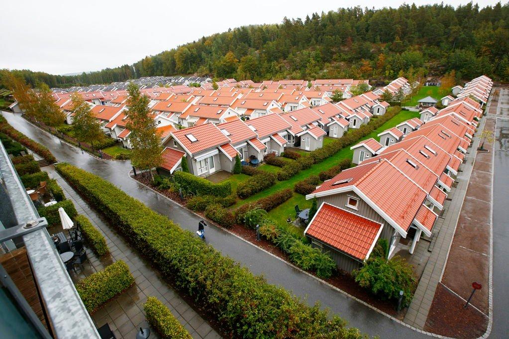 HÆRVERK: Ifølge administrerende direktør Stian Fuglset ved Oslofjord Convention Center skal halvparten av leilighetene de leide ut til UDI ha blitt ødelagt av sigarettrøyk. Det skal også ha blitt gjort en del skader og hærverk. Foto: Scanpix
