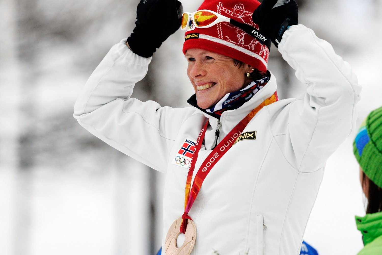 OL I TORINO: Hilde Gjermundshaug Pedersen tok bronse på damenes 10-kilometer klassisk under vinter-OL.