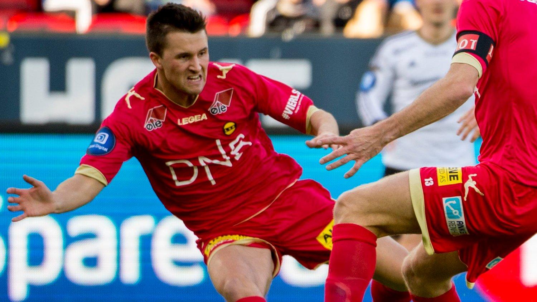 DEBUT: Stian Ringstad har fått sin første kamp som Braga-spiller. Her fra LSKs møte med Rosenborg i 2015.