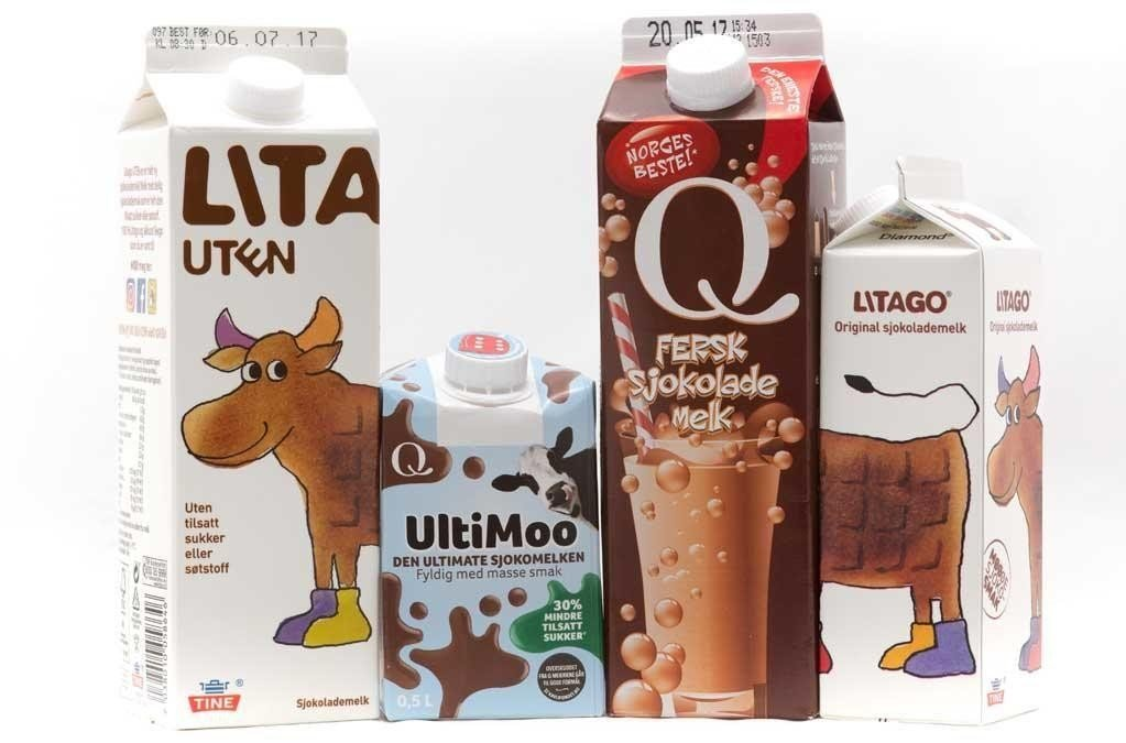 Målet med testen er å finne ut av om sjokolademelken uten tilsatt sukker kan måle seg med variantene med sukker.