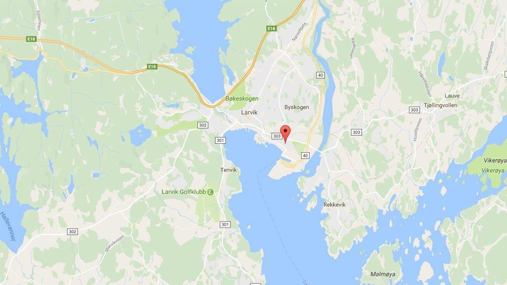 Larvik i Vestfold.