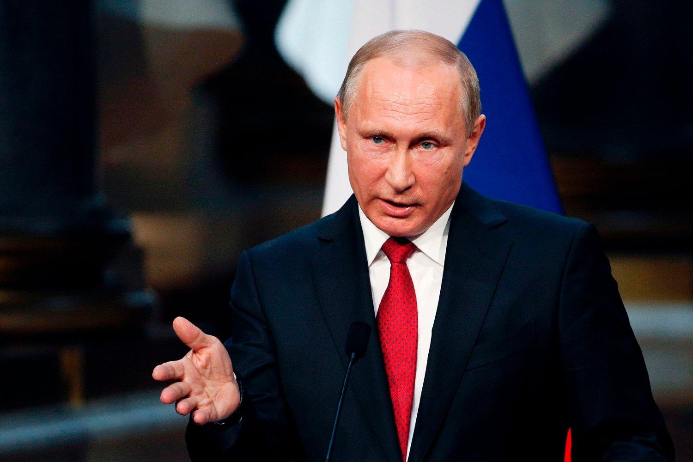 PANIKK: Ifølge etterretningsrapporten til Christopher Steele, skal Vladimir Putin ha fått panikk da han innså at Russland kunne tape i kampen om fotball-VM.