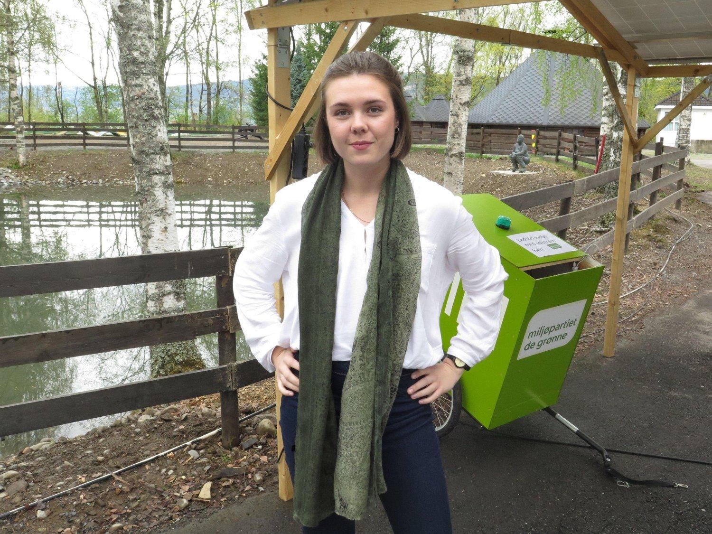 Anna Kvam, førstekandidat for Rogaland MDG og leder for Grønn ungdom.