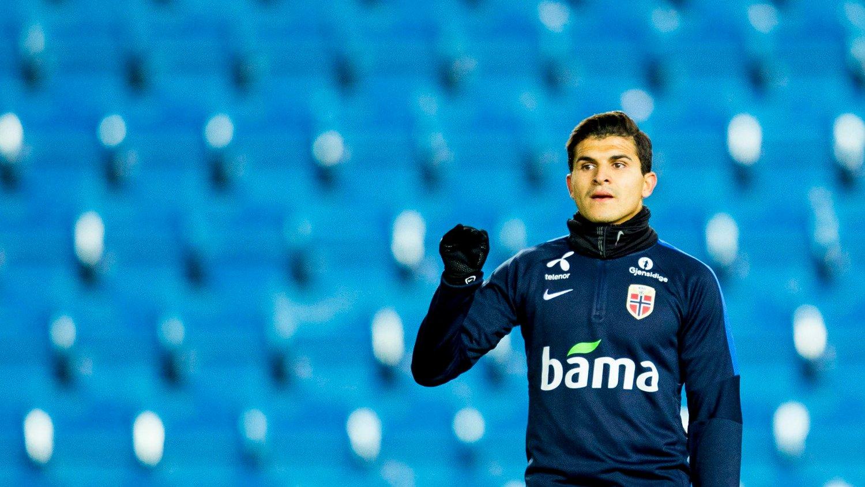 PÅ VEI BORT: Elyounoussi trenger spilletid dersom han skal få flere kamper for det norske landslaget.