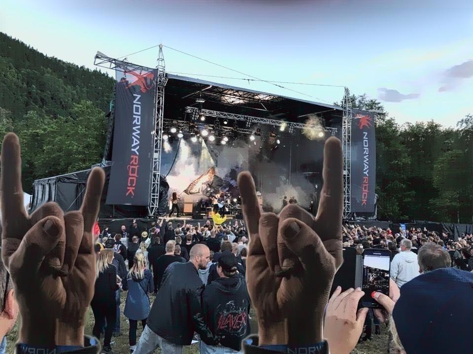 Bilde av hovedscene Norway Rock Festival 2017