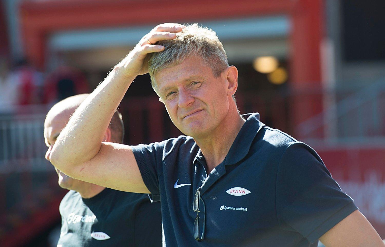 HELT: Brann-trener Lars Arne Nilsen blir hyllet som en helt.