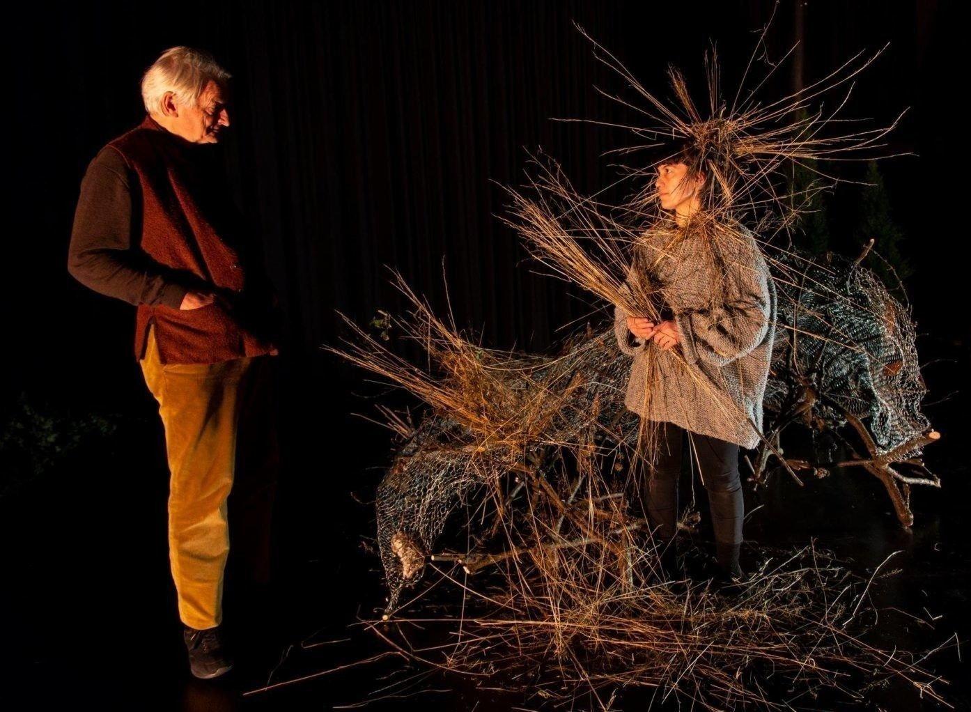 Foto fra teaterstykket «Ways of seeing»