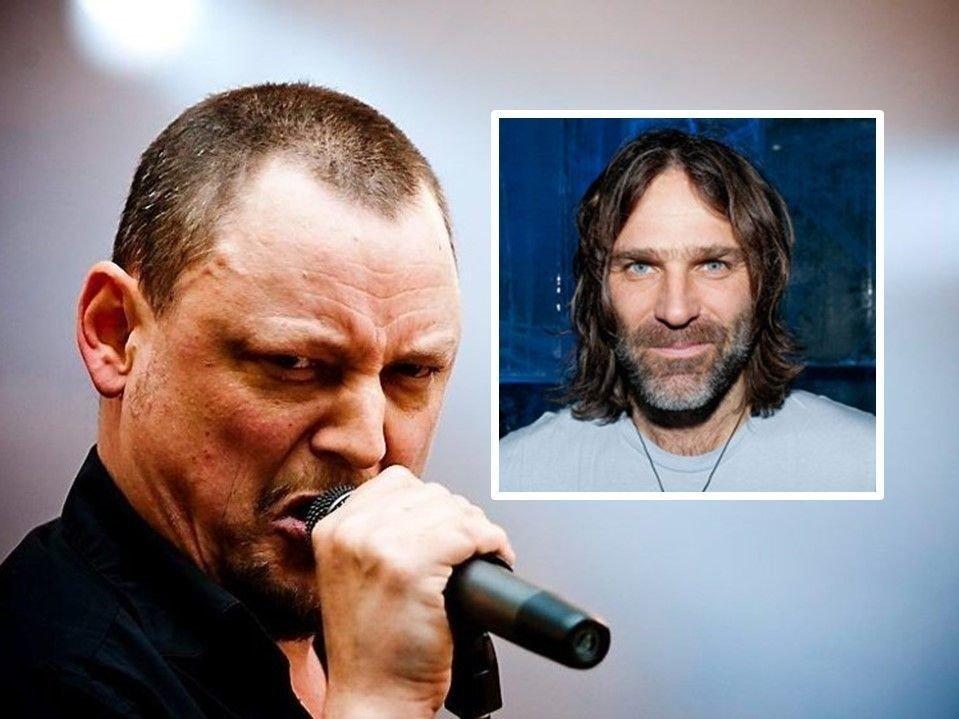 Fra ventre: Michael Krohn (Raga Rockers) og Christer Falck