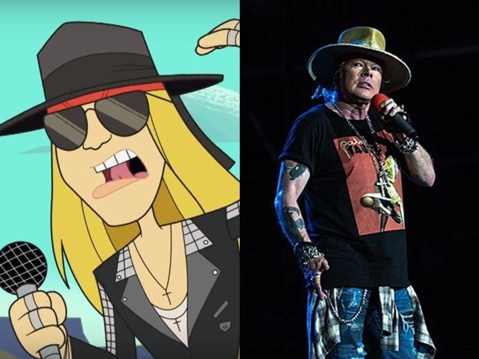 Axl Rose, Guns N`Roses