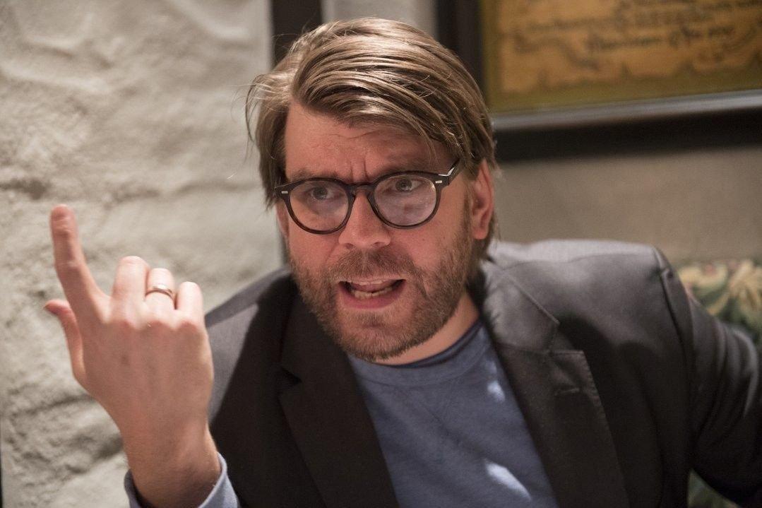 SINNA BERGENSER: Redaktør Sigvald Sveinbjørnsson i Bergensavisen tordner mot det nye Nasjonalmuseet.