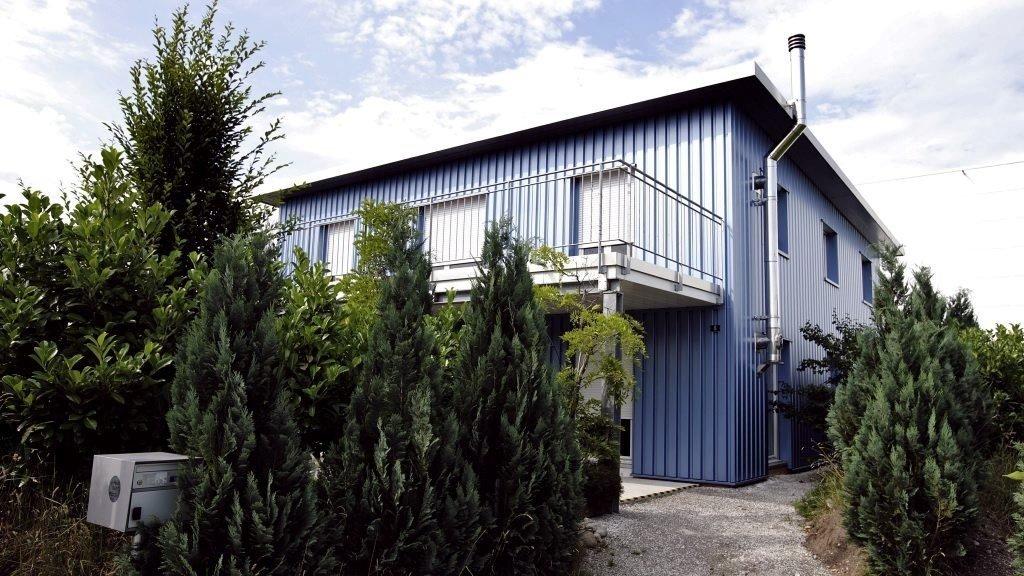 Dignitas holder til i dette bygget i Sveits. Syv nordmenn har fått hjelp av Dignitas til å avslutte livet sitt.