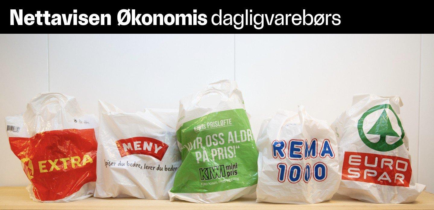 TESTER:Enhver.no har testet Norges seks største dagligvarekjeder over tre uker. Vinneren ble Kiwi.