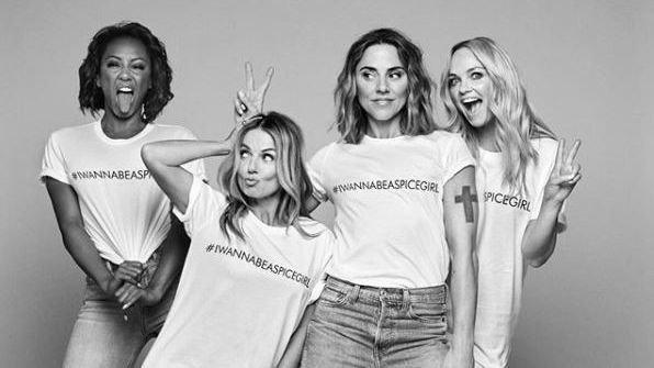 VERDENS STØRSTE: Spice Girls er det største jentebandet gjennom alle tider.