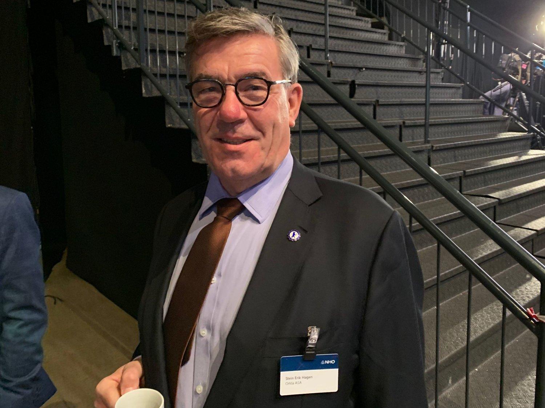 FOKUS: Stein Erik Hagen er største eier i matgiganten Orkla, selskapet bak merkevarer som Grandiosa, Toro, Nidar og Jordan. Nå jaktes det på nye investeringsmuligheter.