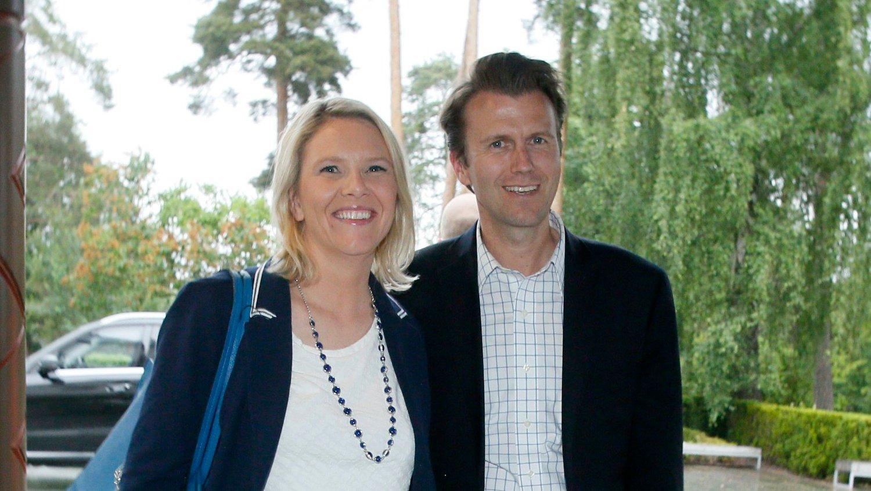 JOBBE FOR SOLBERG: Sylvi Listhaus ektemann Espen Espeset blir statssekretær for Erna Solberg.