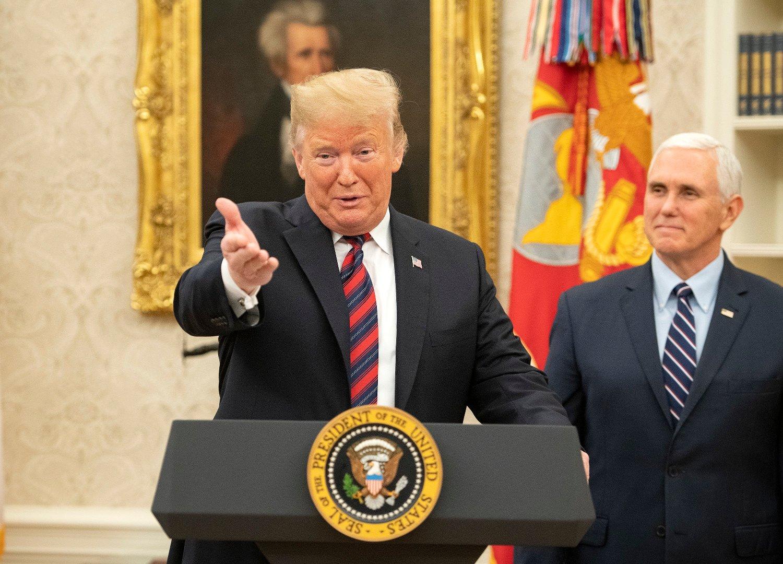President Donal Trump droppet å reise til Davos på grunn av shutdown i USA.