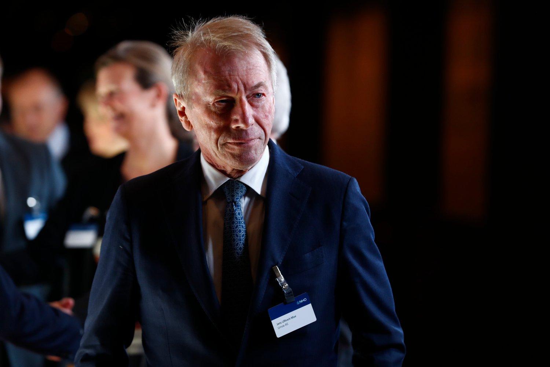 Jens Ulltveit-Moe under NHOs årsmiddag i Oslo Spektrum tidligere i januar. Foto: Heiko Junge / NTB scanpix