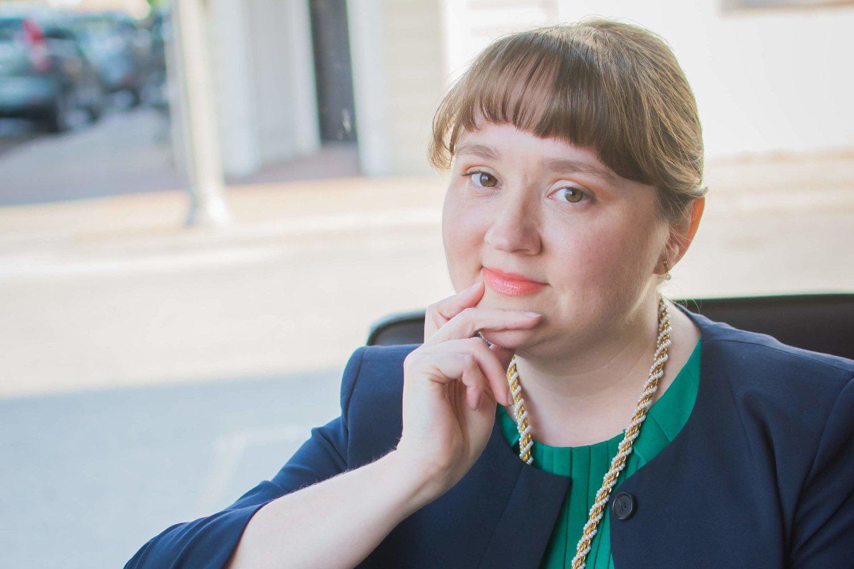 PÅVIRKET: Anna Cory måtte ta ubetalt permisjon på grunn av at deler av offentlig sektor i USA er stengt.