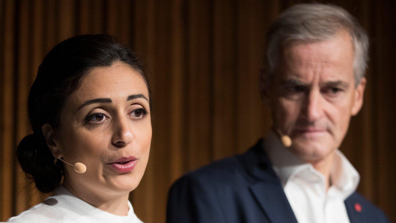 DÅRLIG JANUARMÅLING: Ap-nestleder Hadia Tajik og Arbeiderpartiet blir møtt med skuffende tall i ny måling.