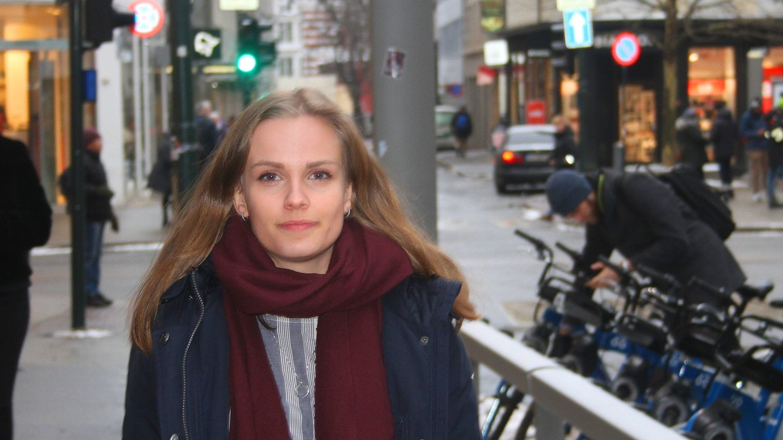 TØFFE KRAV: Runa Korneliussen Fiske (21) stiller tøffe krav til arbeidsgiver.