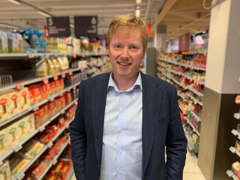 LEGGER NY STRATEGI: Vegard Kjuus er kjedesjef i Meny, som eies av Norgesgruppen.