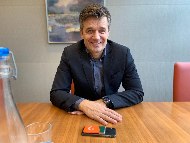 AMBISIØS: Rune Garborg er sjef for Vipps.