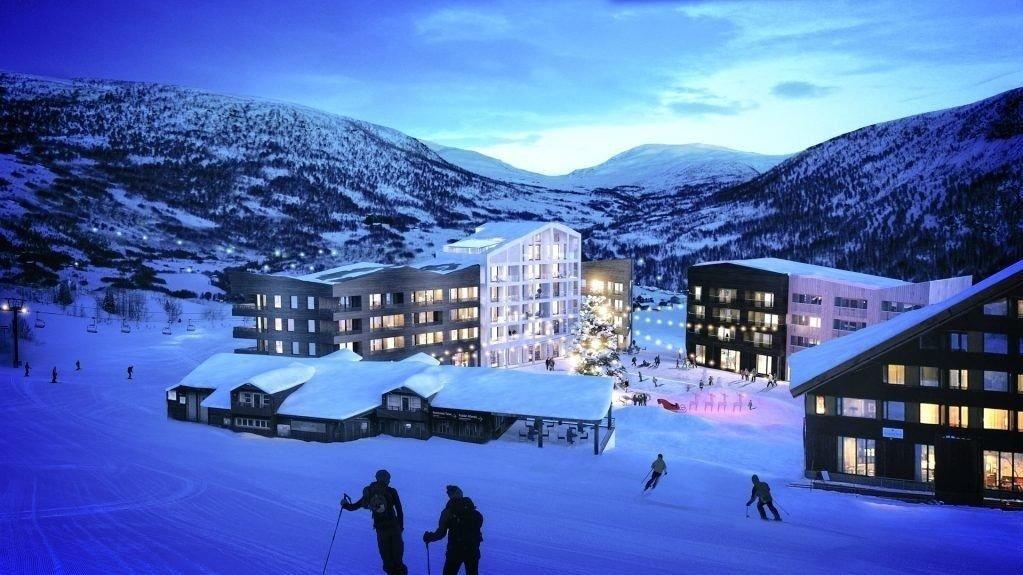 DESTINASJON: Myrkdalen i Voss kommune har gått fra ingenting til en stor skidestinasjon siden 2003. Og mer skal det bli.