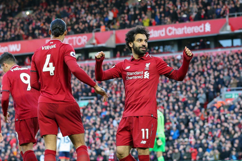 KOBLES BORT: LIverpool-stjernen Mohamed Salah.