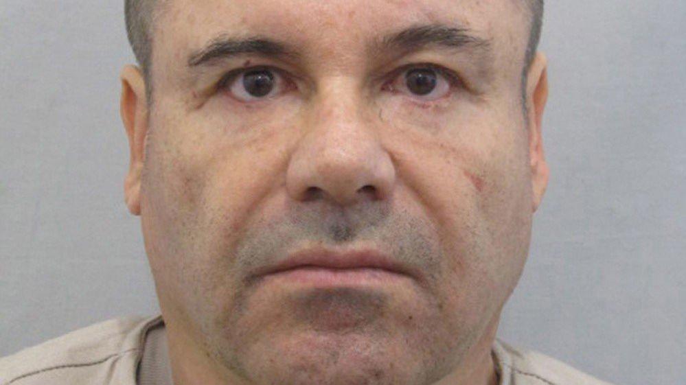 SKYLDIG: Narkobaronen Joaquin Guzmán er kjent skyldig i en amerikansk domstol.