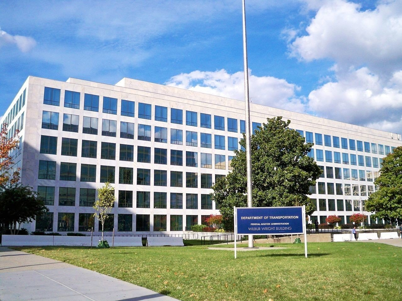 Federal Aviation Administrations (FAA) hovedkontor i Washington.