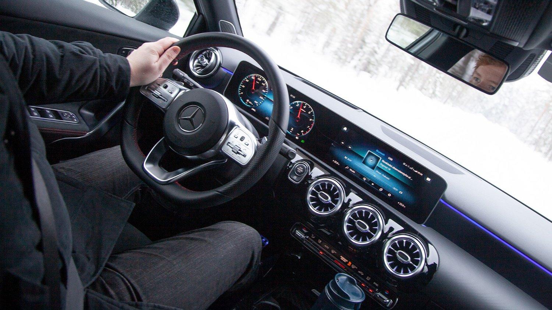 Nye A-klasse har det som må være det beste interiøret blant småbiler.