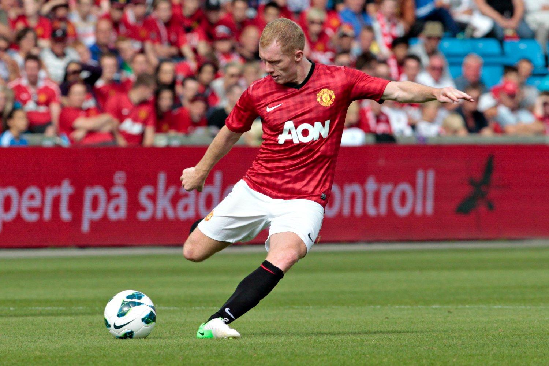 Tidligere Manchester United-spiller Paul Scholes er ferdig som Oldham-manager. Foto: Anette Karlsen / NTB scanpix