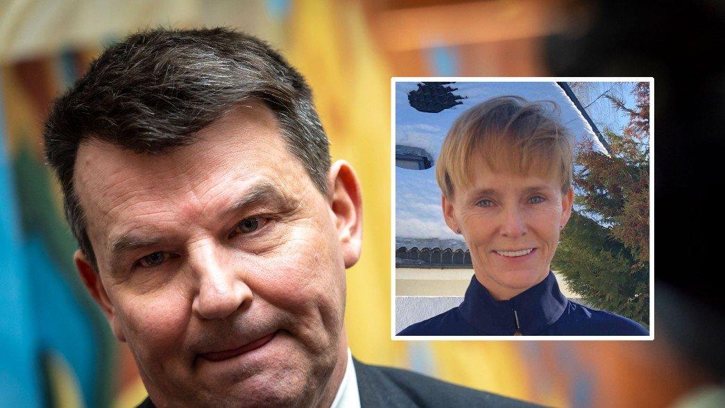 SIKTET: Samboeren til justisminister Tor Mikkel Wara er siktet for falsk forklaring i forbindelse med truslene mot statsråden.