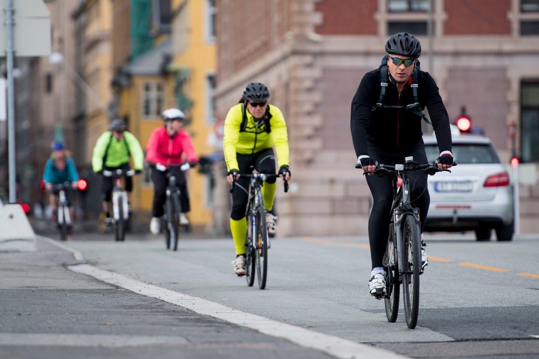 FULL RULLE: Dagsavisen skriver at syklingen i Oslo øker, men de skriver ingenting om nivåene det øker fra og til.