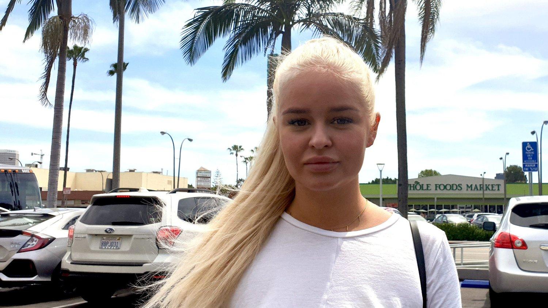 FÆL OPPLEVELSE:Vanessa Monstad (22) gikk gjennom den skumle episoden allerede første uken hun bodde i Los Angeles.