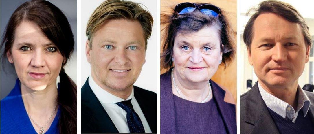 FRISKE MENINGER: Anne-Kari Bratten, Ole André Oftebro, Elin Ørjasæter og Paal Frisvold er nye tilskudd til Nettavisens brede stall av kommentatorer.