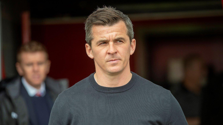 ETTERFORSKES: Joey Barton etterforskes etter at han skal ha angrepet Barnsley-manager Daniel Stendel lørdag.
