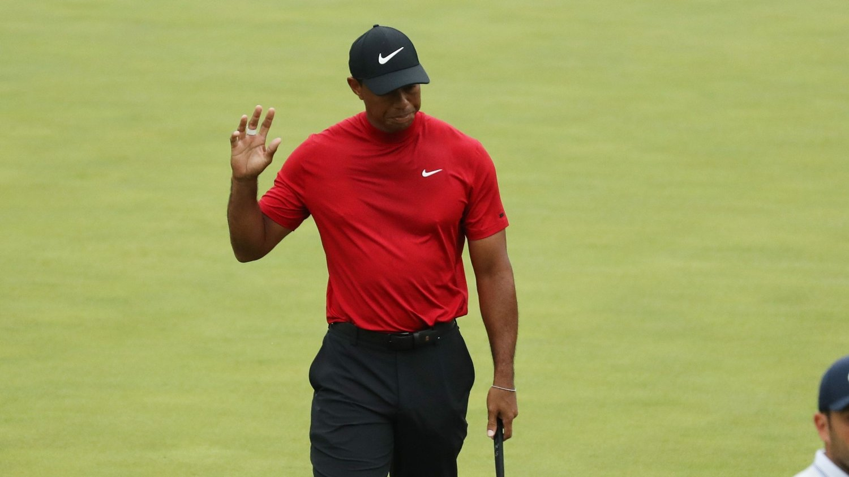 Tiger Woods vinner Masters.