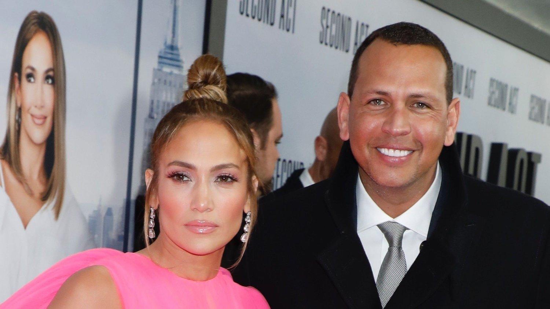 IKKE TID: Jennifer Lopez og forloveden Alex Rodriguez har ikke begynt å planlegge bryllupet enda.