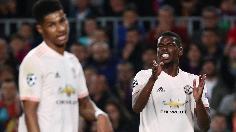 KUTT: Både Marcus Rashford og Paul Pogba må ta et stort lønnskutt dersom de ikke kvalifiserer seg til Champions League.