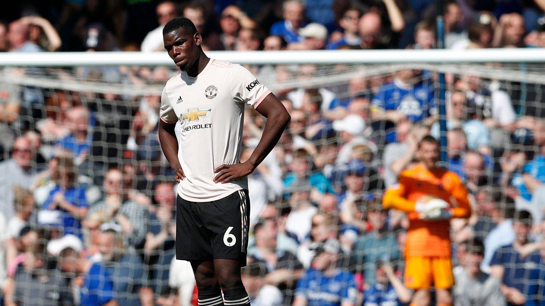 KOBLES BORT: Paul Pogba ryktes bort fra Old Trafford i sommer.