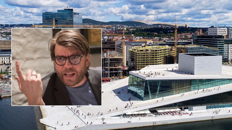 RASER: Sigvald Sveinbjørnsson synes ikke noe om at Oslo-operaen stikker av med 624 millioner kroner i kulturmidler.