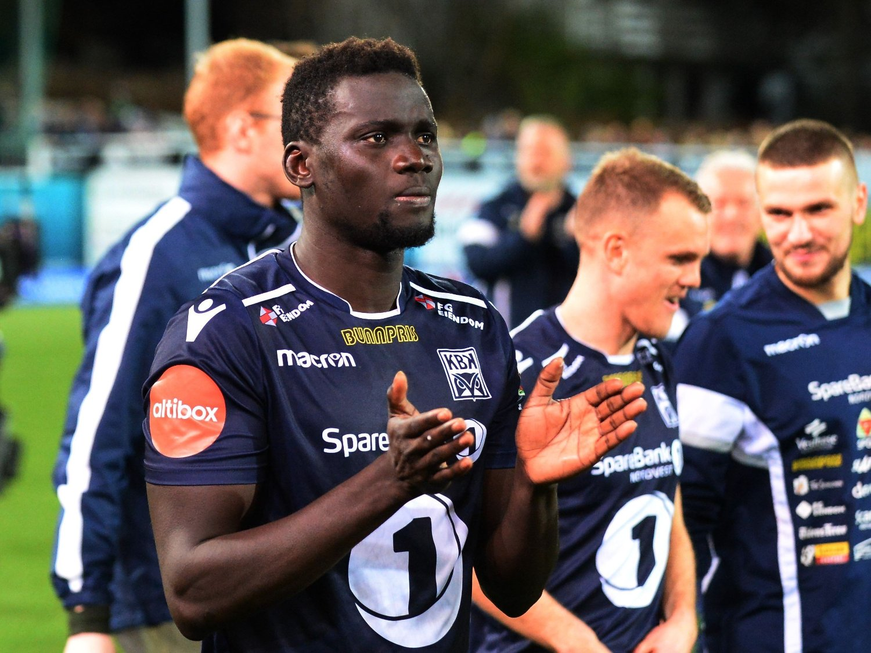 I FOKUS: Aliou Coly mener han blir forskjellsbehandlet av dommerne i Eliteserien.