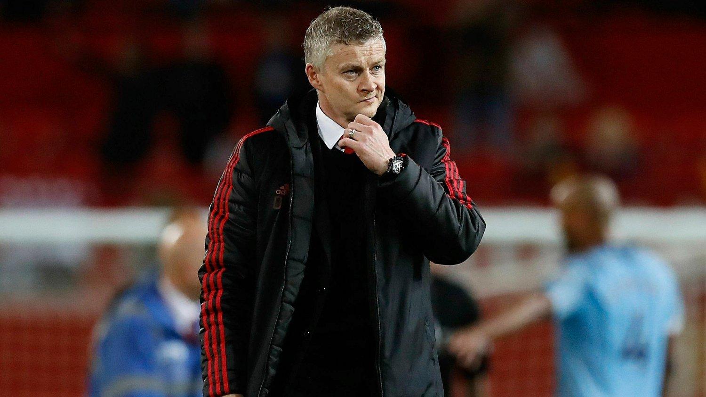 FÅR KRITIKK: Ole Gunnar Solskjær og Manchester United sliter i motvind og har tapt fire av de sist seks Premier League-kampene.
