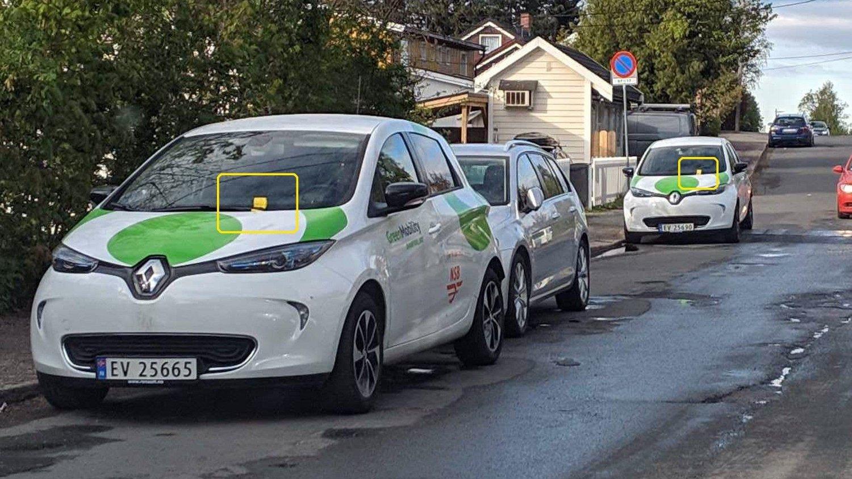 Vys bybiler får 30-40 parkeringsbøter i uka. Noen ganger kan kundene også få bot når de parkerer steder der det egentlig er lov å parkere.