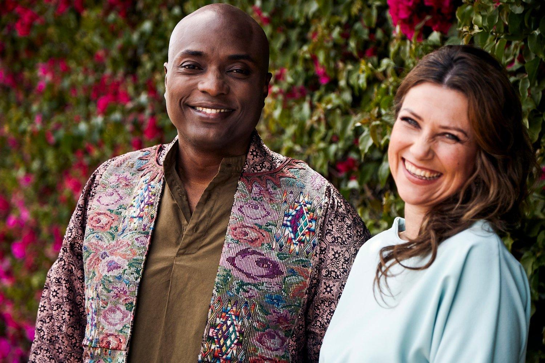 Prinsesse Märtha Louise og sjamanen Durek Verrett har bekreftet at de er et par. Nå skal de ut på en foredragsturné i Norge. Foto: Daryl Henderson / NTB scanpix