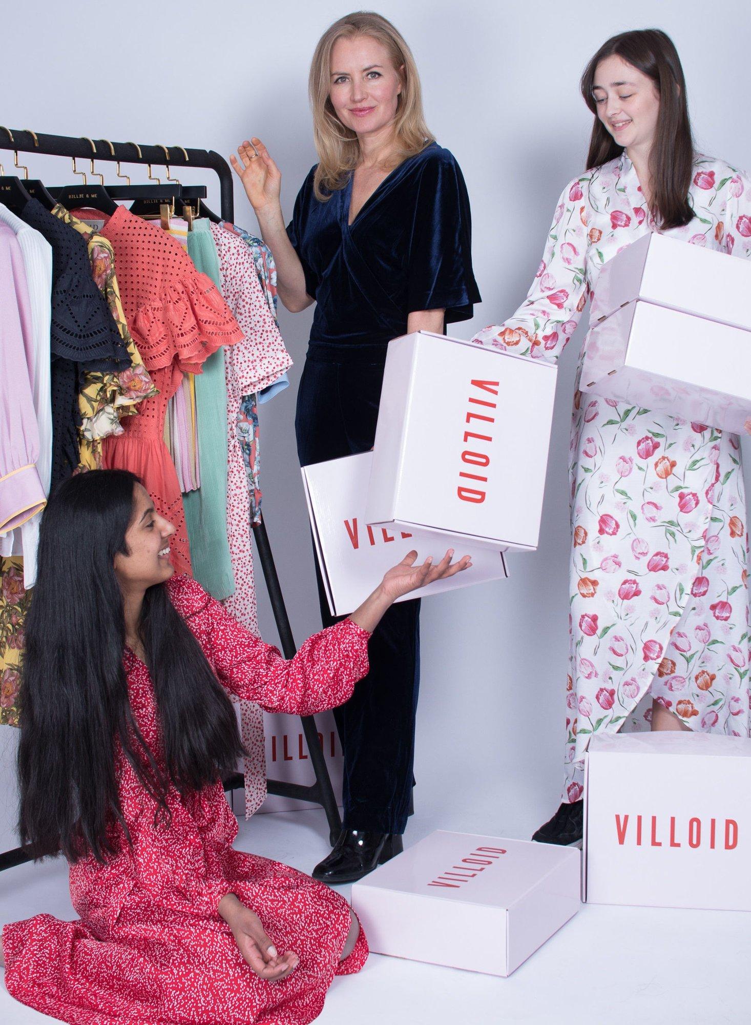 017150a4 Villoid og Jeanette Dyhre Kvisvik satser på kvinner, både som kunder og  investorer. Foto: Filipp Loebbert (V bilder)