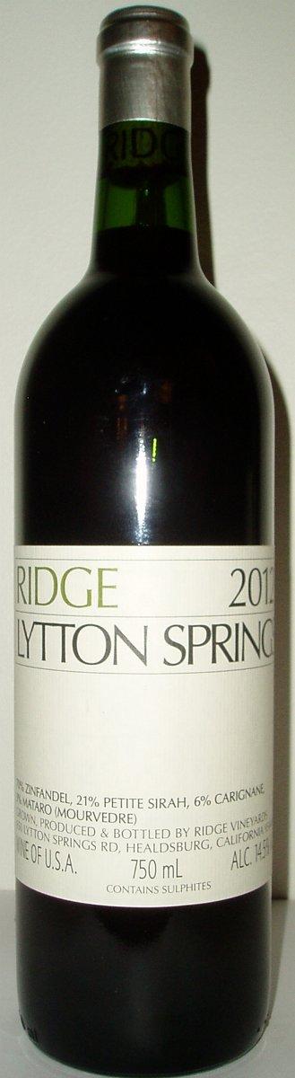 WEB_Nr 19615 Ridge Lytton Springs 2012.jpg