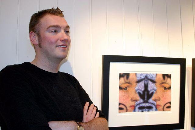 <b>Tett på:</b> En dame fra et fordums maleri har fått en viktig rolle i Joakim Lunds nye datagrafik