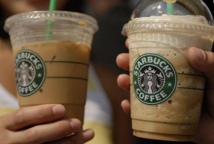 Kaffe fra Starbucks